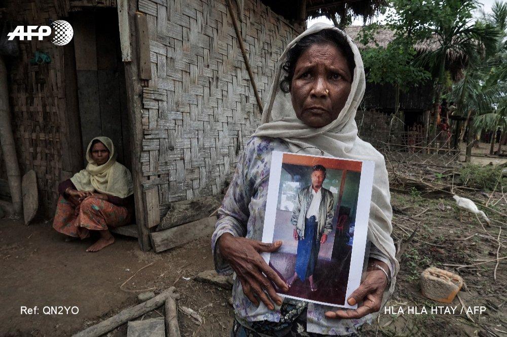 Dans l'ouest de la Birmanie, les Rohingyas vivent la peur au ventre https://t.co/iJD7dkxbxW par @HlaAFP #AFP