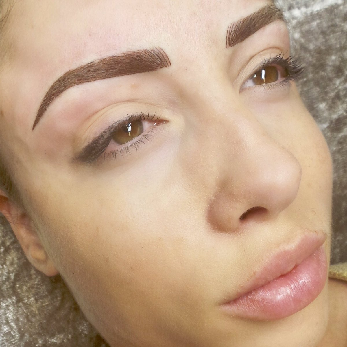 Victoria Adams On Twitter Semipermanent Brows Natural