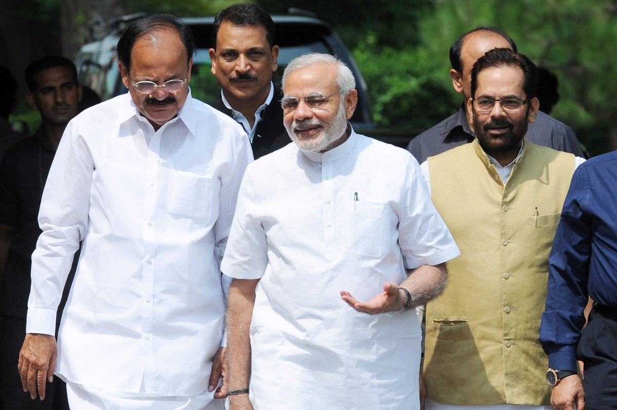 NDA's vice presidential candidate Venkaiah Naidu is a man of many parts https://t.co/9wt5Lst0gu