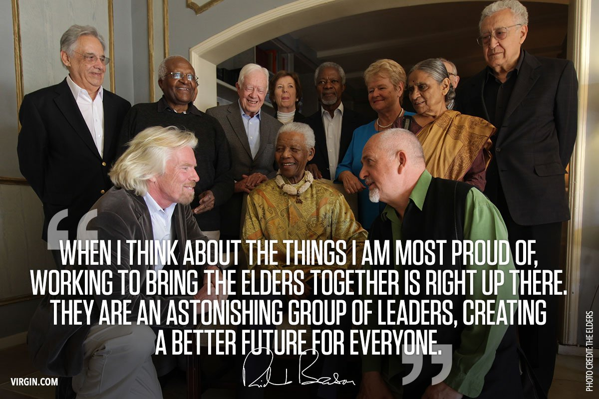 It's the 10th anniversary of the @TheElders – what a way to celebrate my birthday: https://t.co/8EHQZIMdiF https://t.co/sGG75dq1rY