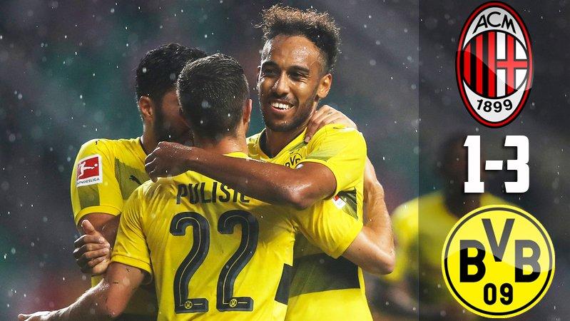 Milan-Borussia Dortmund 1-3: Montella non guarda il risultato di oggi