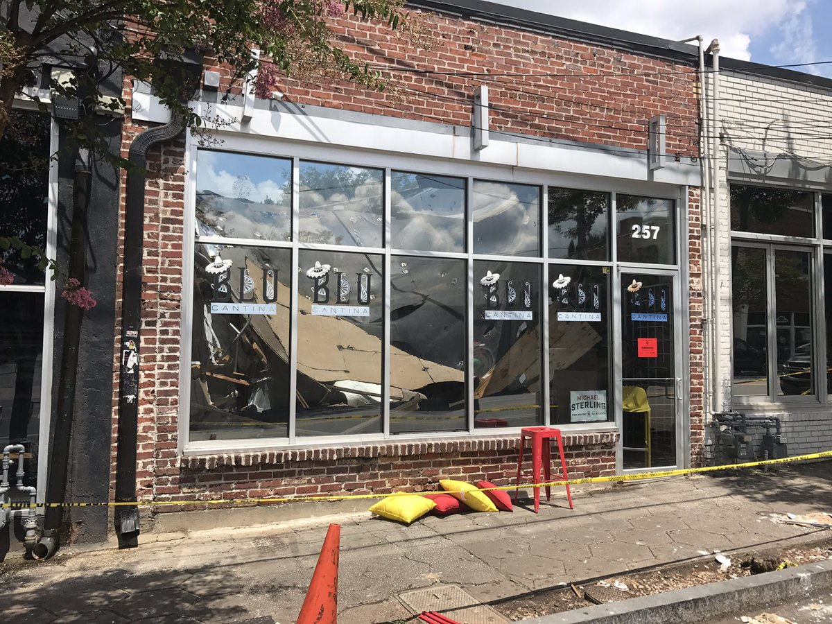 NO MORE BLU CANTINA....& they also shut down all restaurants connected on Peters St. https://t.co/FsFlkR7auz