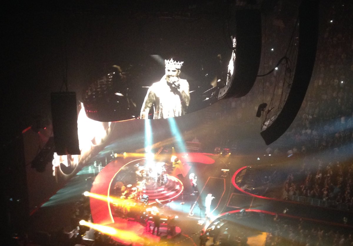 Only one Freddy? True....but only one @adamlambert as well!  Your performance @BellCentre in #Montreal was absolutely amazing! #Queen <br>http://pic.twitter.com/XWaJGB0Xbj