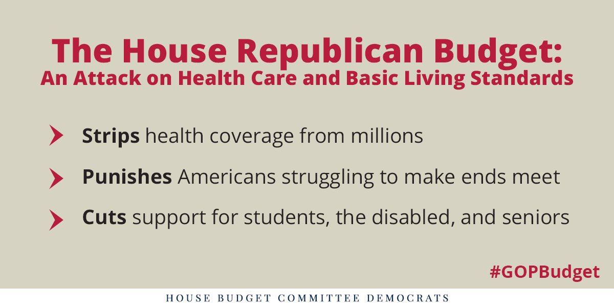 Life is hard enough for many struggling families; #GOPBudget is certain to make their lives even harder. https://t.co/heF4ziJPx2