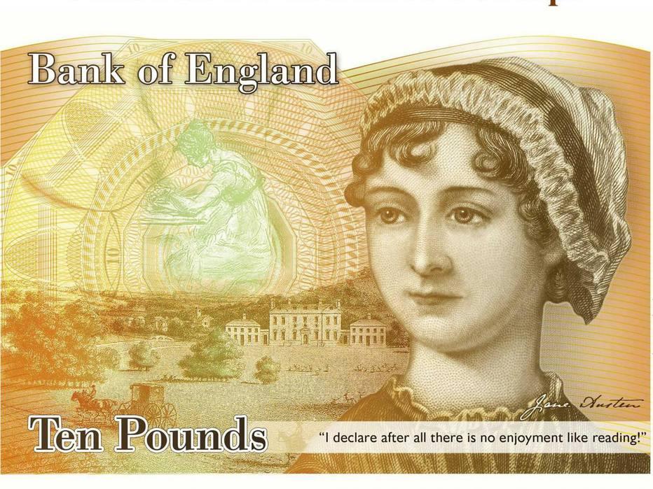 🇬🇧 Jane Austen, autora de 'Orgulho e Preconceito', vai substituir Darwin em nota de 10 libras https://t.co/aFDwS6UWv8