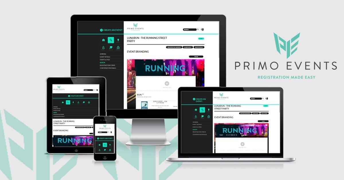Event branding primo events