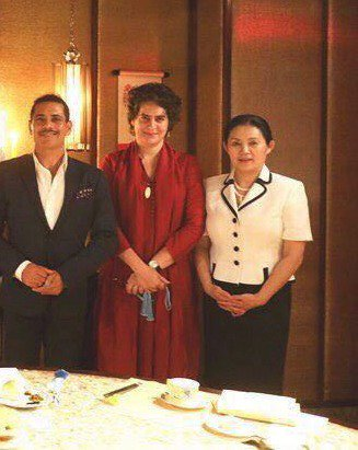 Had to meet Chinese envoy to eat Chinese food? Office of Priyanka gives a bizarre explanation on #VadraChinaTalks