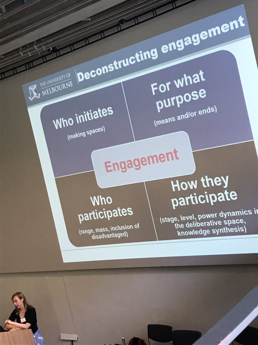 Bridget Pratt on four aspects of engagement #OGHB2017 <br>http://pic.twitter.com/yw1TTJgjqA