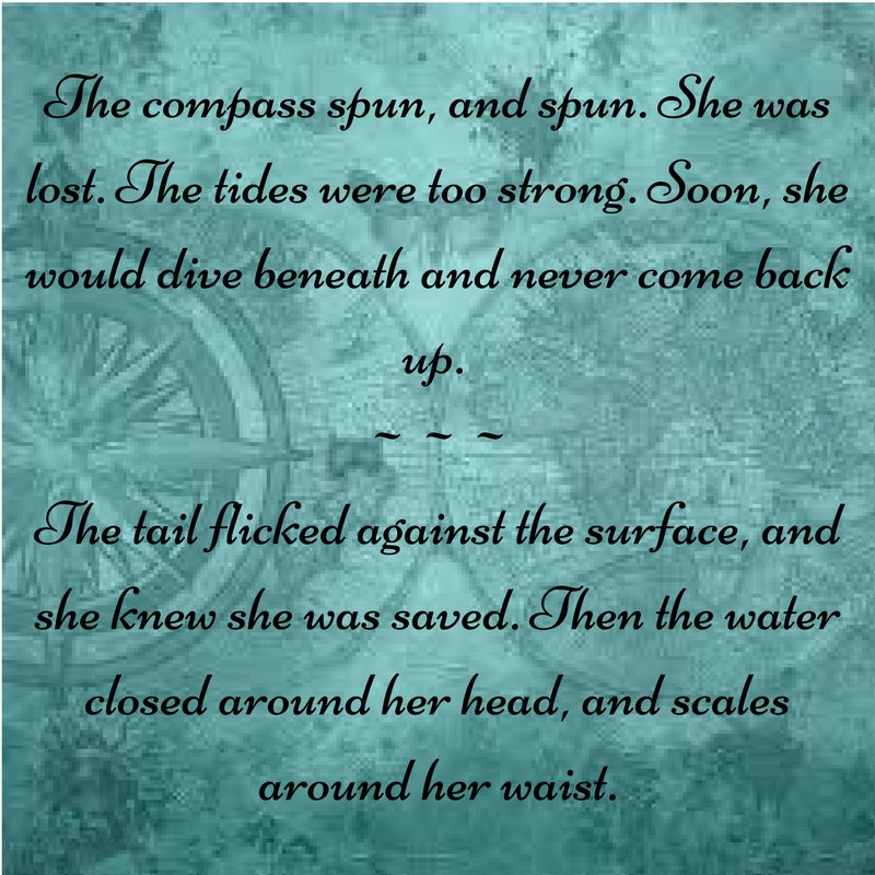 Redo of my #Tiniature tweet: The compass spun, and spun. She was lost. The tides were too strong. Soon, she would dive beneath and never... https://t.co/1sAZCZy43z