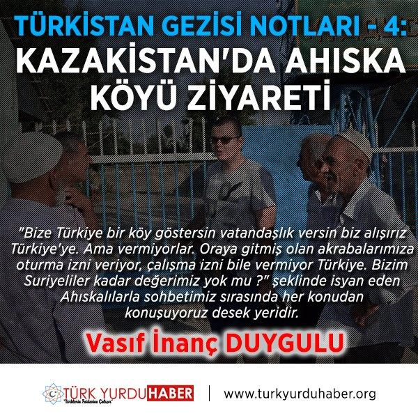 Türkistan Gezisi Notları - 4: Kazakistan'da Ahıska Köyü Ziyareti