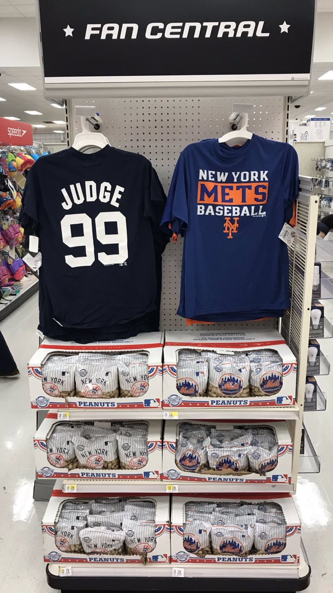 Come to Target to get some peanuts and a new Mets or Yankees shirt  Mets   Yankees  Target  Sales  110hgr8… https   t.co RJtGGRzRYK