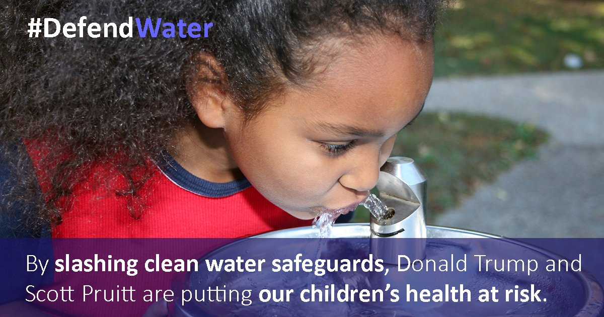 #PoC are disproportionately affected by contaminated water. Take action &amp; let them know it&#39;s time to #DefendWater!  http:// ejus.tc/2uA2P1G  &nbsp;  <br>http://pic.twitter.com/TSXmskXMRF