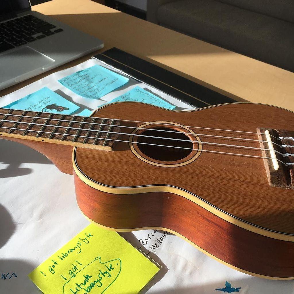 Desk buddy #ukulele #ULlife #tweetpic @aut_library  http:// ift.tt/2uwudy2  &nbsp;  <br>http://pic.twitter.com/rtQybGSOVV