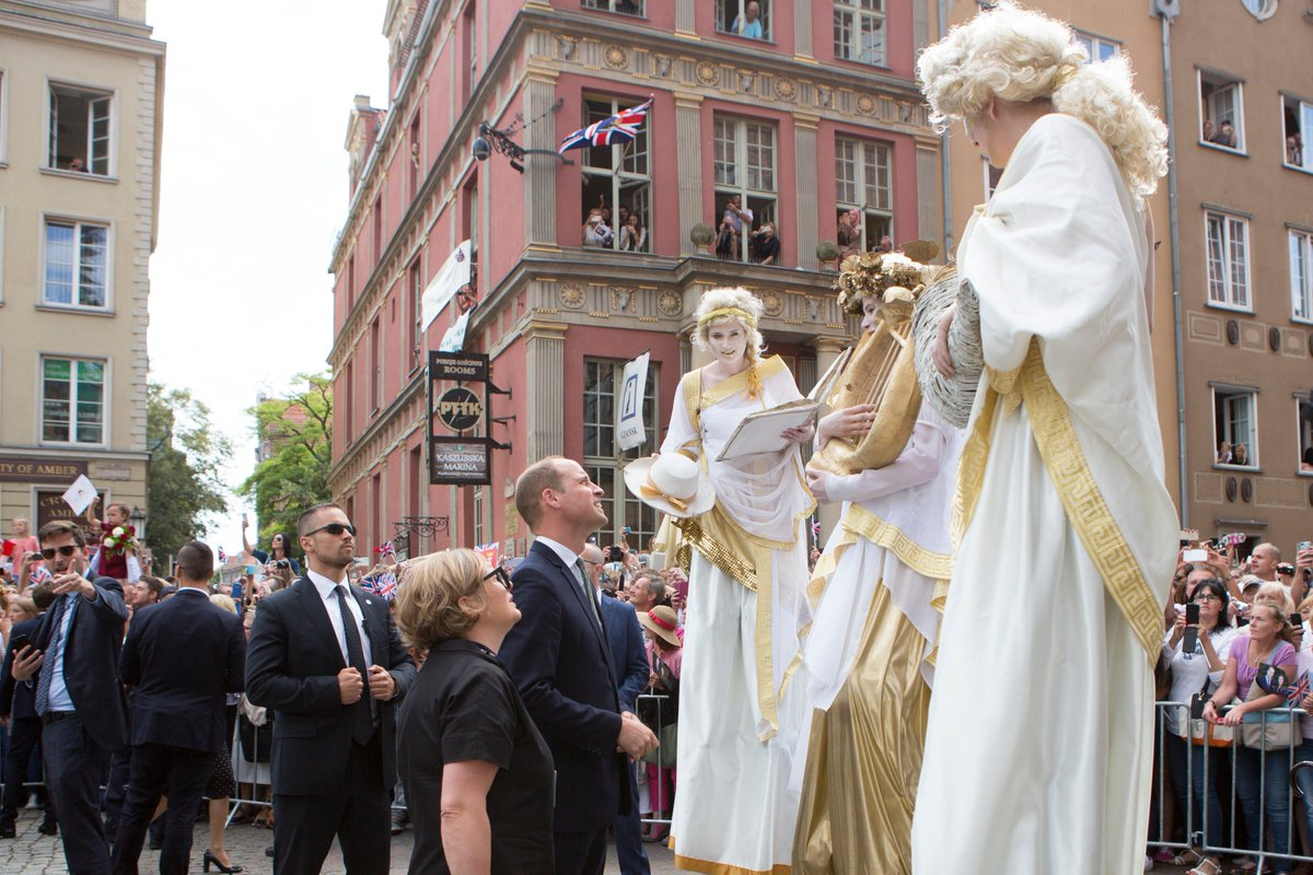 What a Day in #Gdańsk! #RoyalTourPoland...