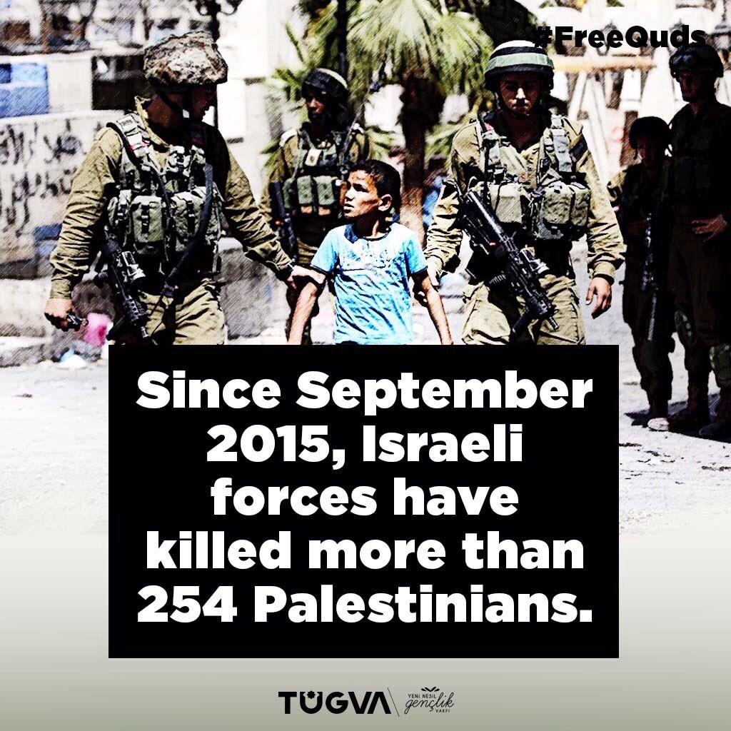 Since September 2015 Israeli forces have...