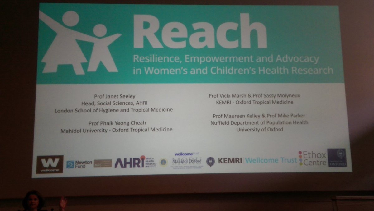 What is the role for research in addressing vulnerability? @maureen0kelley opens the last talk of #OGHB2017 with intro to  @REACHOxford<br>http://pic.twitter.com/ANmIcZYAi2