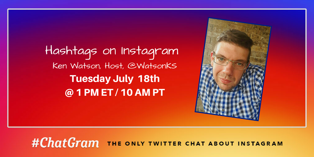 Today on #ChatGram will are talking about Hashtags on Instagram! Explore how they can be used on Instagram from posts to Stories. https://t.co/rswkNPV5Mi