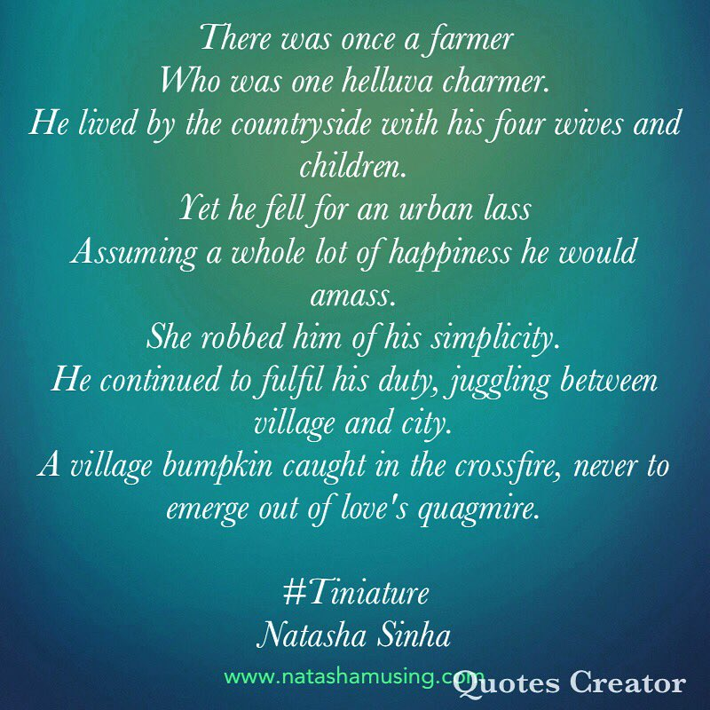 @gayatri_gadre @romspeaks @foodietweeter @Ishieta @Anupriya_Guptaa @sujitrukhsat @Mayuri6 @nehatambe @twinklingtina #Tiniature #TinyStory #microstories #beingauthor #amwriting https://t.co/dkqHmK00dA