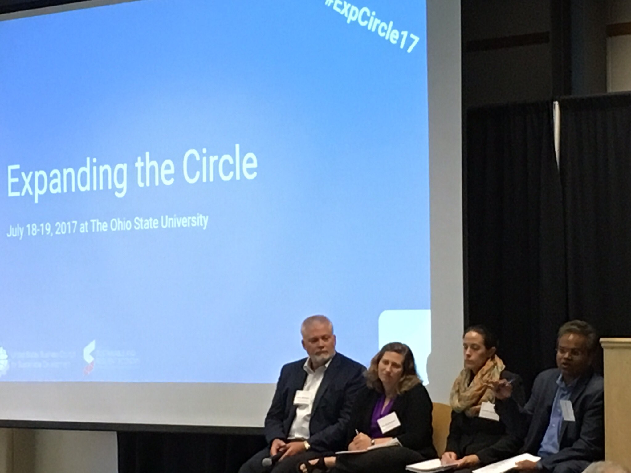 Public-private partnerships are essential - and growing - in Circular Economy. Leadership from @USBCSD @wef @WWF @USChamber #ExpCircle17 https://t.co/HHHnGbiINv
