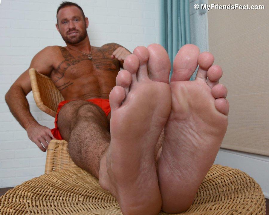 My Sexy Boy Feet In Black High Heels