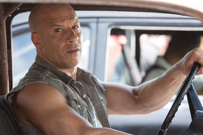Happy 50th Birthday Vin Diesel