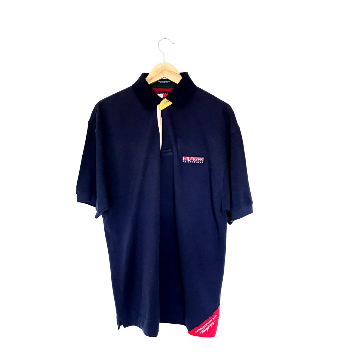 13f610b7 Tommy Hilfiger Sailing Gear polo added to the depop! Really rare and loud  this one. #TommyHilfiger #TimelessGarms pic.twitter.com/zU0VKvihcS