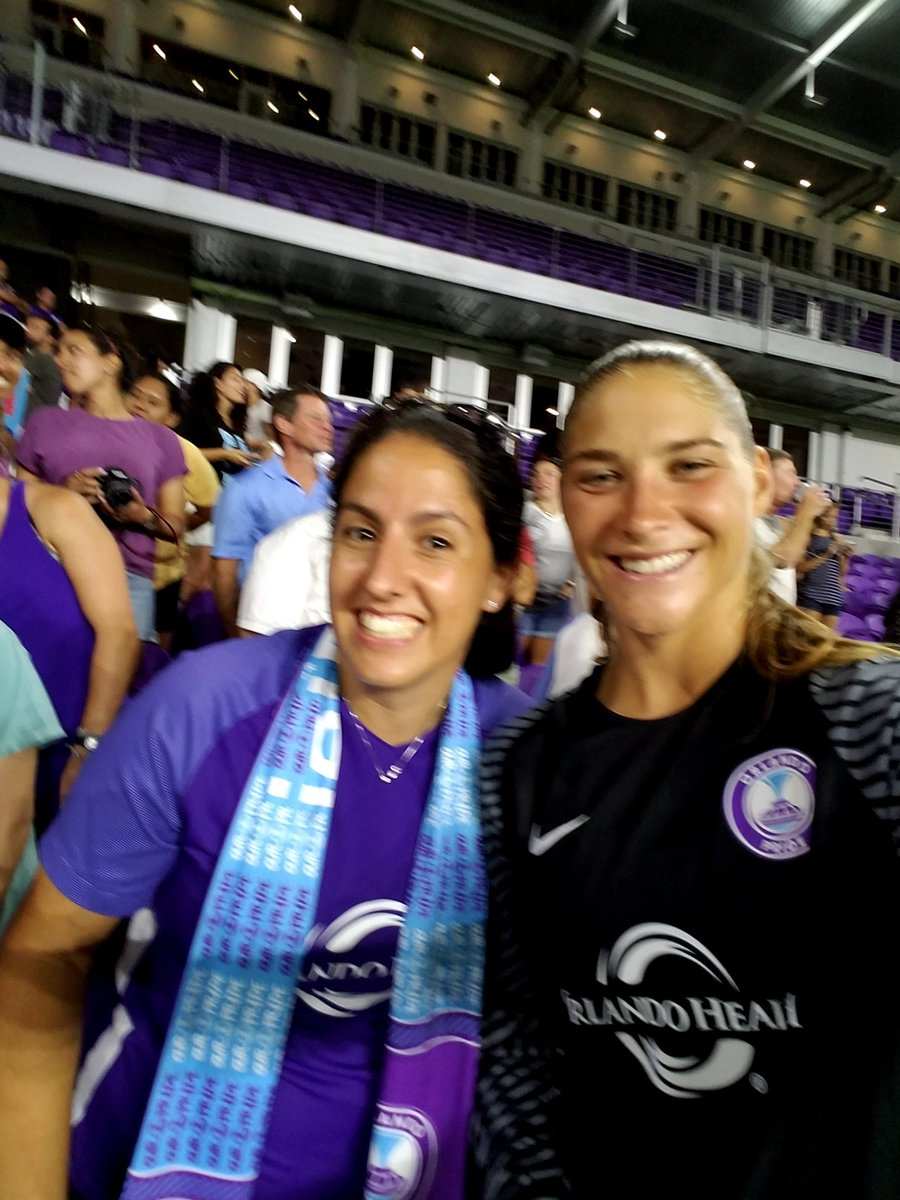 Goal of the Week  save of the Week  #1 in power ranking Its  purple in #orlando with our @ORLPride. #prideintheair #playoffpush<br>http://pic.twitter.com/F2GXJkupQ2 &ndash; à Orlando City Stadium