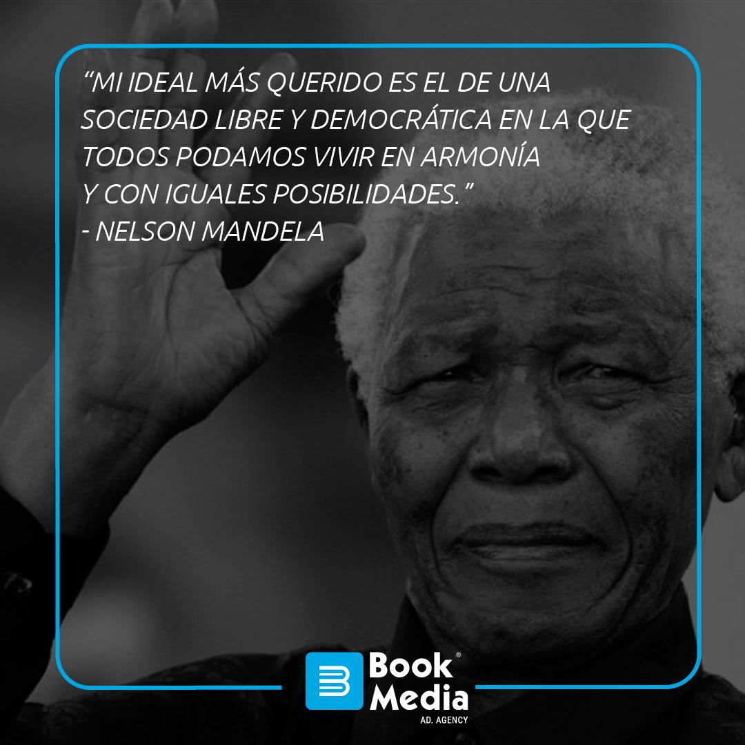 Grandes hombres generan grandes frases, gracias #NelsonMandela . #Quotes #Frases #SoyBookMedia #Marketing #BookMedia https://t.co/EEZ2t3vBTN