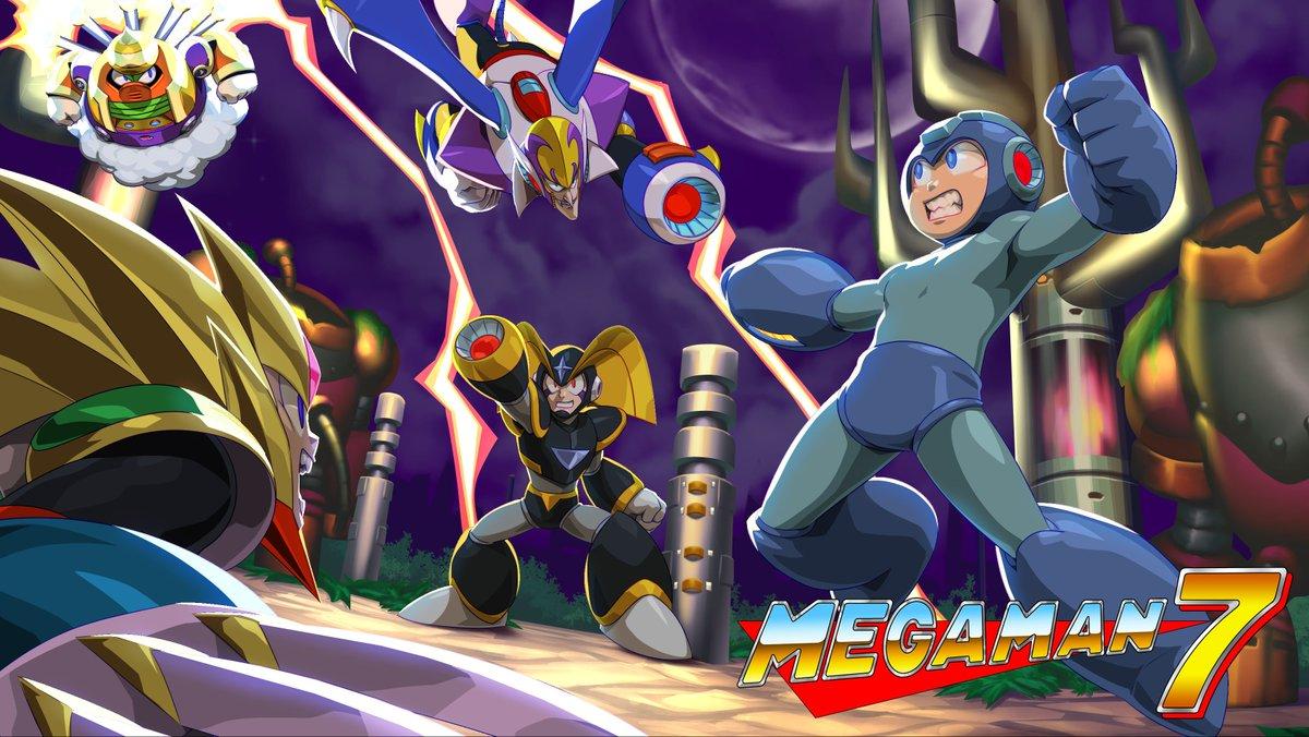 mega man on twitter you get amazing mega man 7 art by udonent