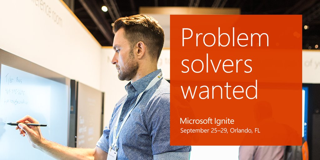 'Explore compelling innovations in the #Microsoft Cloud Platform. Register now for #MSIgnite: https://www.microsoft.com/en-us/ignite?ocid=ignite_reg-open_all_social_fb_cloud_y_event-news_photo_8826b' from the web at 'https://pbs.twimg.com/media/DFChT9oXkAA23f0.jpg'
