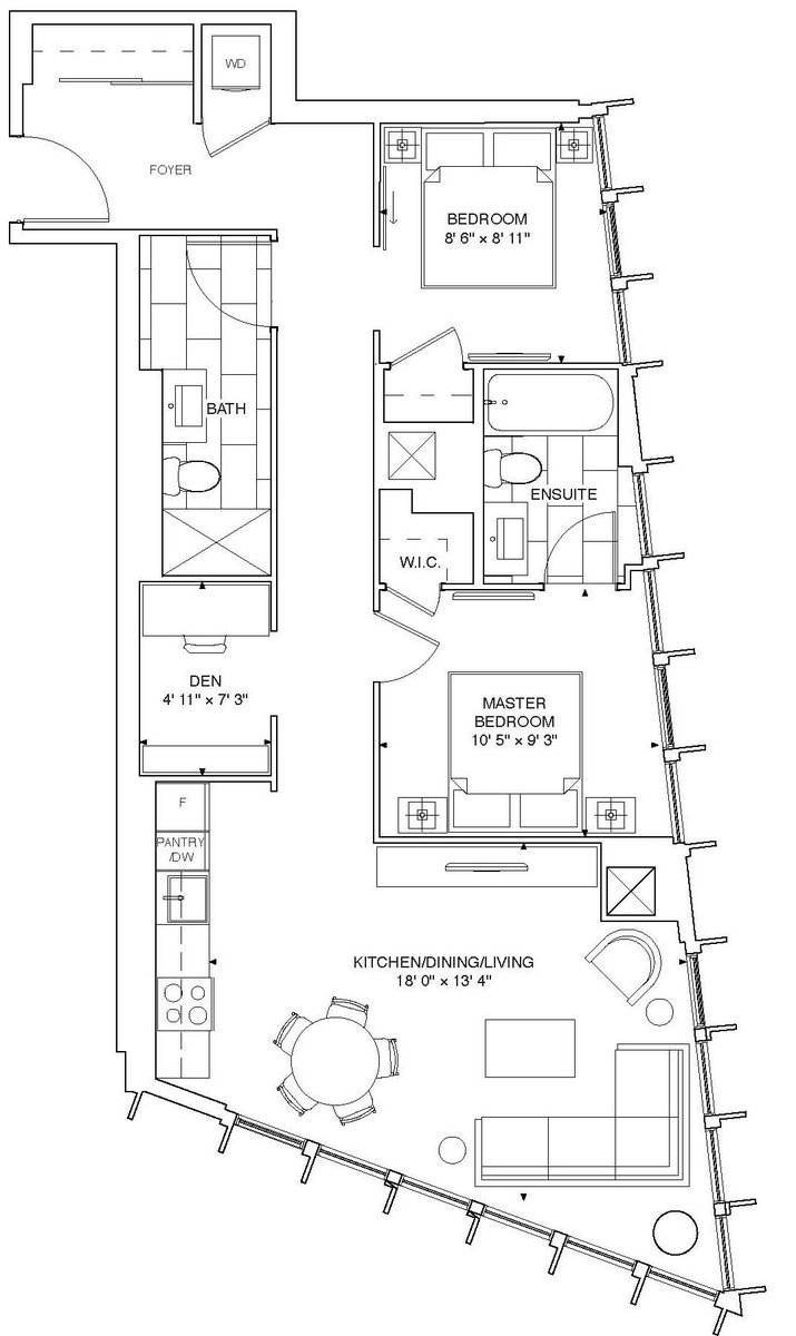 Get an exclusive peak of The Jasmine, one of our 2 Bdrm+D units at #Fleur. Find out more:  http:// bit.ly/2uZybfQ  &nbsp;   #Toronto #MenkesTO<br>http://pic.twitter.com/twN3GY3XNK