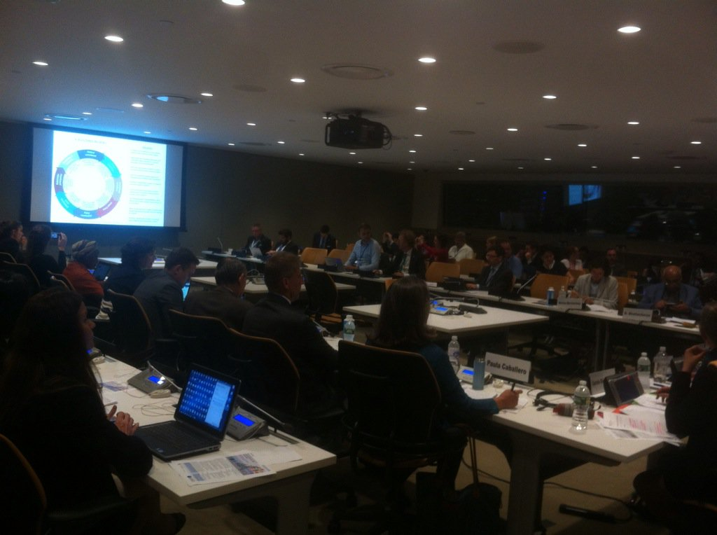 @EbbaDohlman introduces 8 Building Blocks for #PolicyCoherence #SDGs at #OECD - Luxembourg #HLPF SideEvent @OECD_PCD<br>http://pic.twitter.com/NLvSiEYyLv