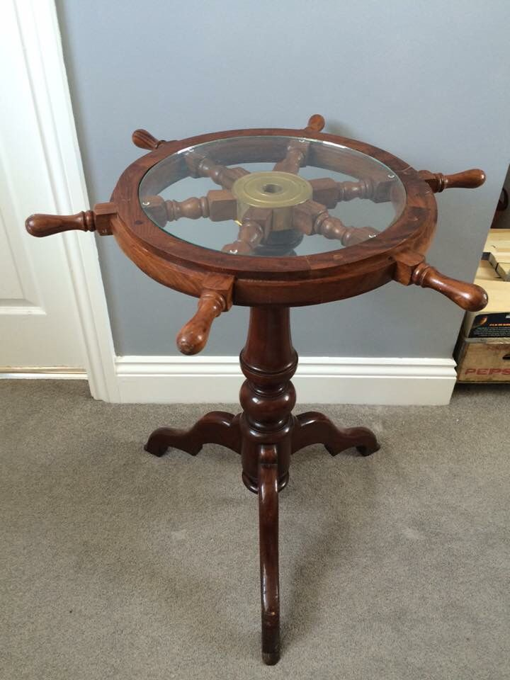 Ahoy matey! This #upcycled #nautical table has been reduced from £185...  Now just £125 in the #UpcycledHour #Sale  https://www. theyardhouse.co.uk/collections/wa rehouse-industrial/products/nautical-oak-side-coffee-table &nbsp; … <br>http://pic.twitter.com/DUs7ZZpiAC