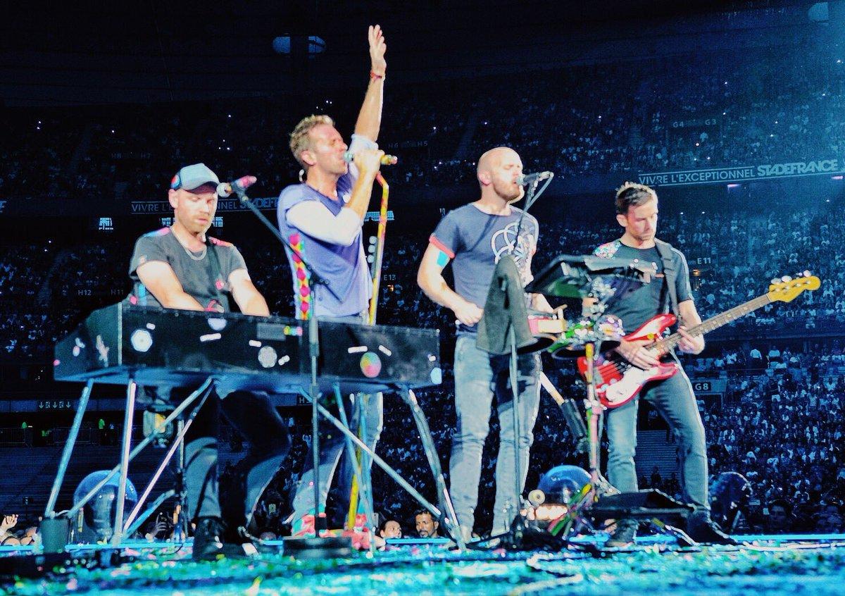 Magic. #ColdplayParis R42