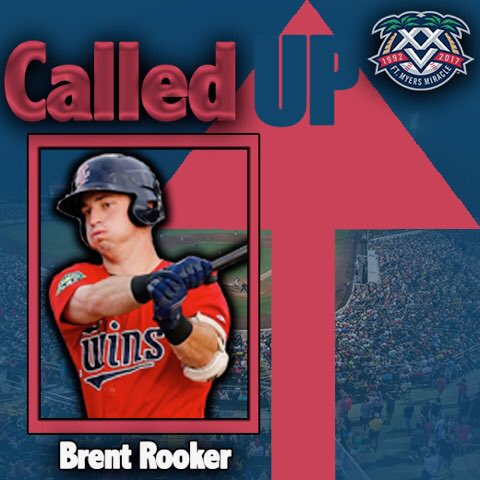 Congrats to @Brent_Rooker19 on your promotion from @ETwinsBaseball and welcome to #FortMyers! #MiracleXXV https://t.co/eaBQf9TZkp