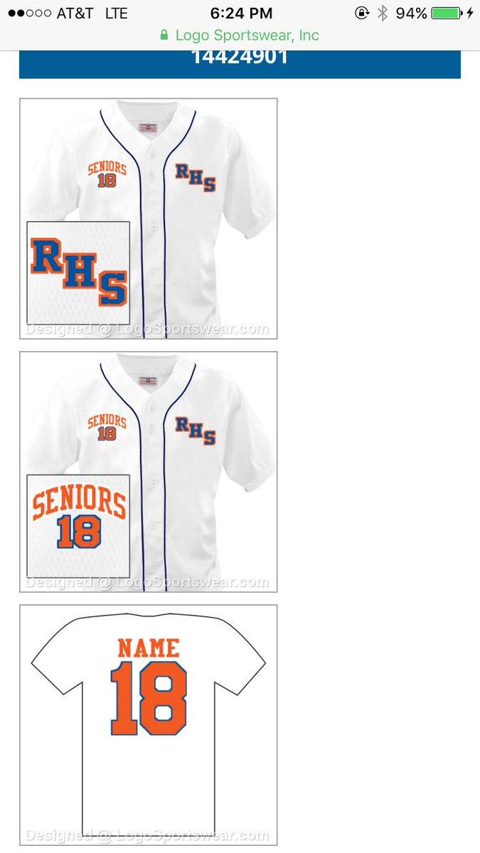 Senior jersey name ideas