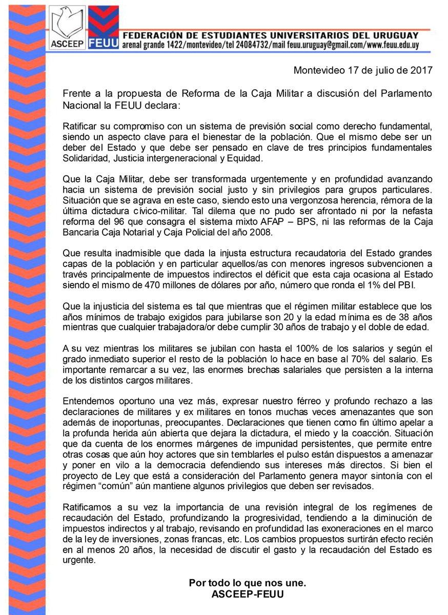 FEUU - URUGUAY on Twitter: \