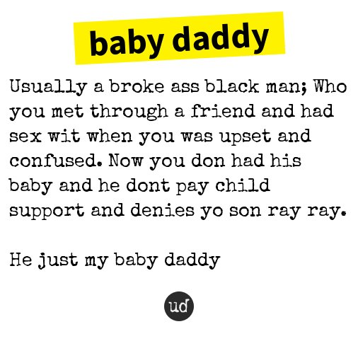 baby daddy urban
