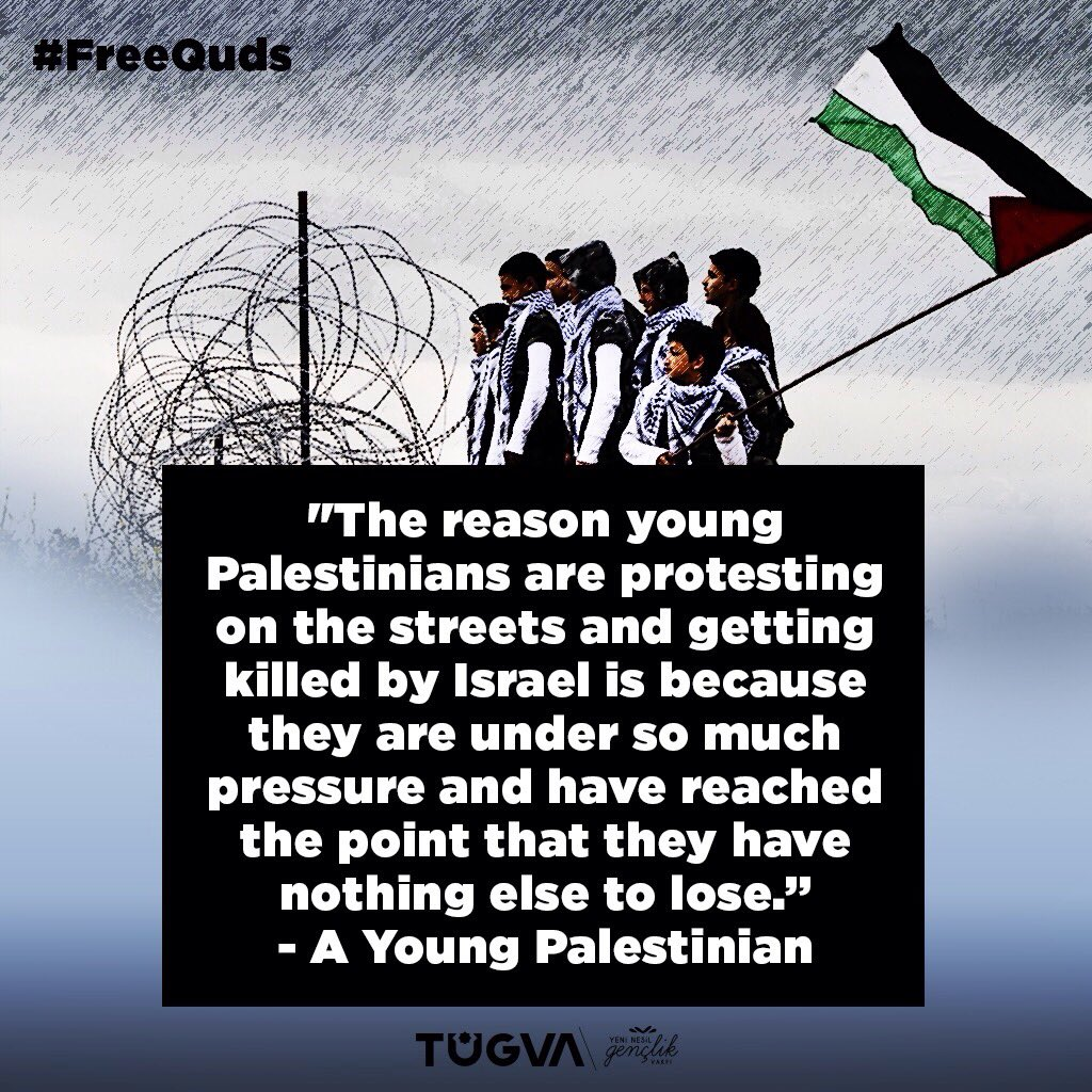 #FreeQuds A young Palestinian; https://t...