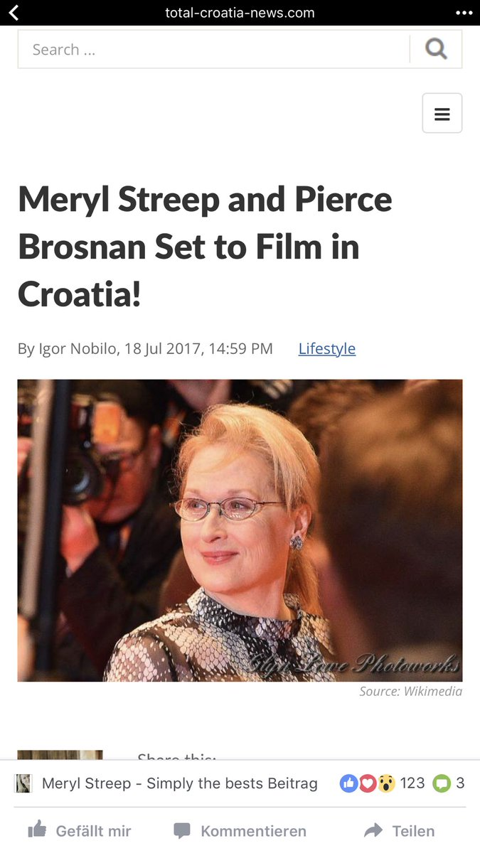 Yay  they will start in September  #HereWeGoAgain #mammamia #MerylStreep @PierceBrosnan<br>http://pic.twitter.com/q48FXJpliw
