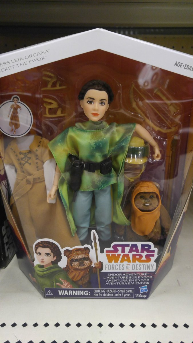 The #ForcesofDestiny dolls are finally beginning to hit Target stores and are priced at $34.99. #princessleia <br>http://pic.twitter.com/JoaQ1pv52M