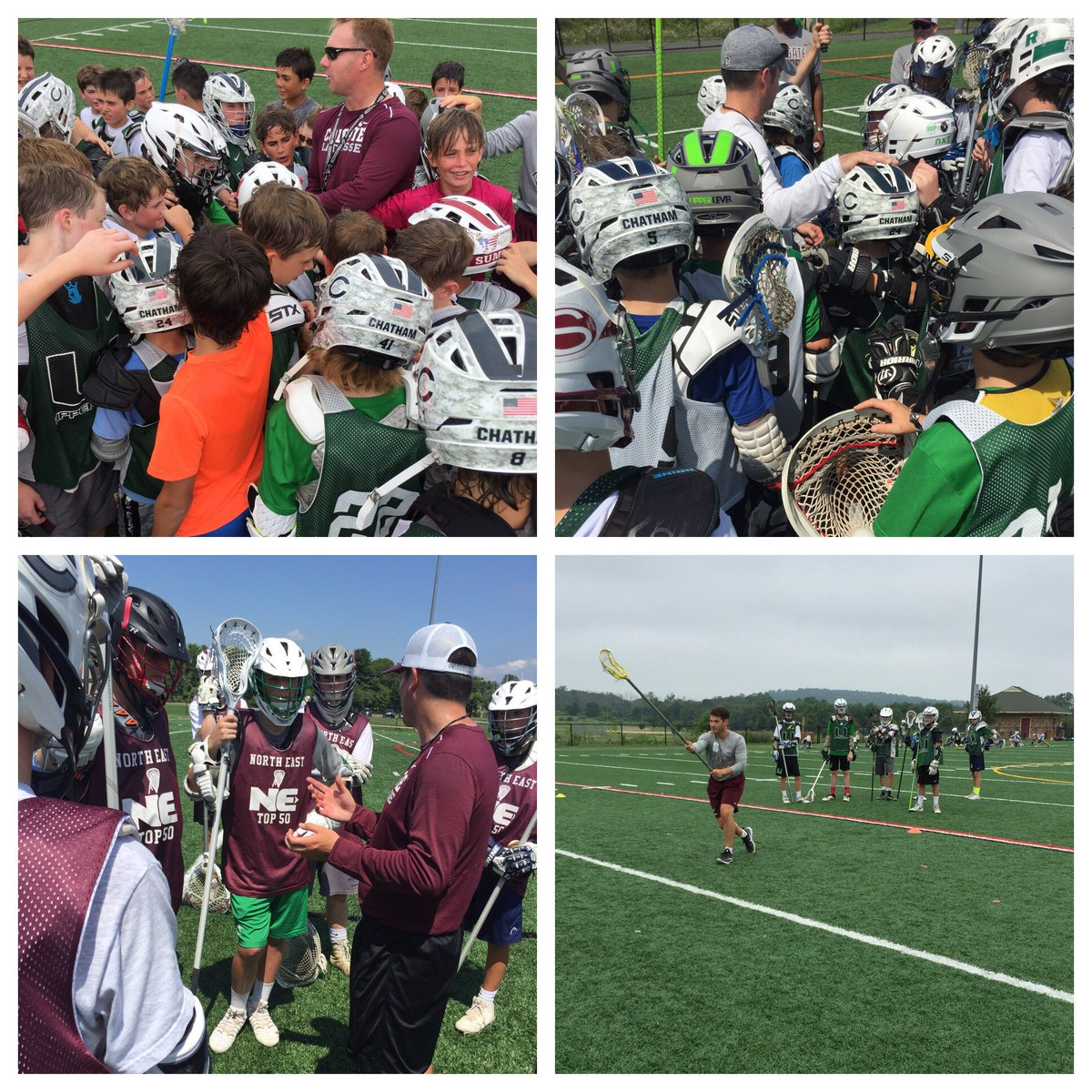 Thank you @LaxcoachMike @abbottlax Coach Hall and Coach Del Monico for an amazing NE Top 50 experience! #UL #BestTheBest @ColgateLacrosse<br>http://pic.twitter.com/h53oazbGrF