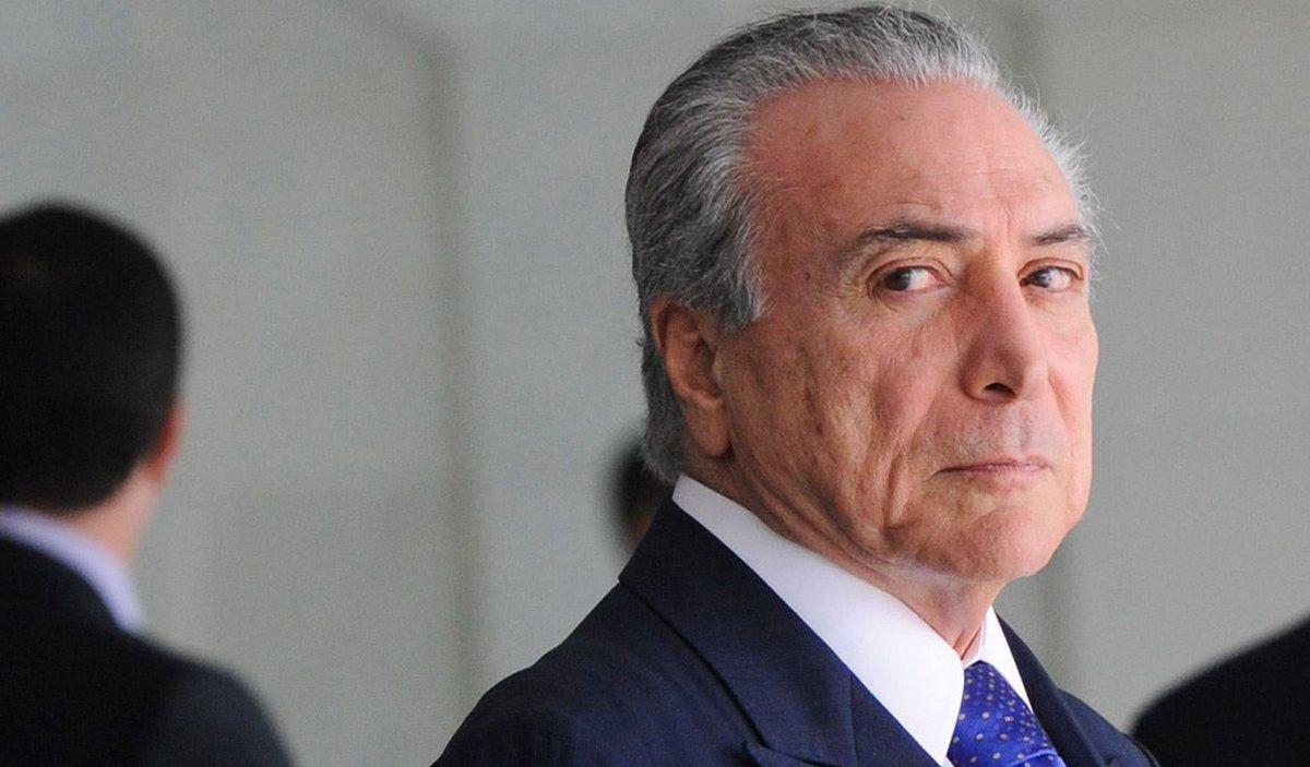 Temer recebeu Eunício Oliveira e inclui jantar com Maia na agenda oficial https://t.co/m5Y8houHwy