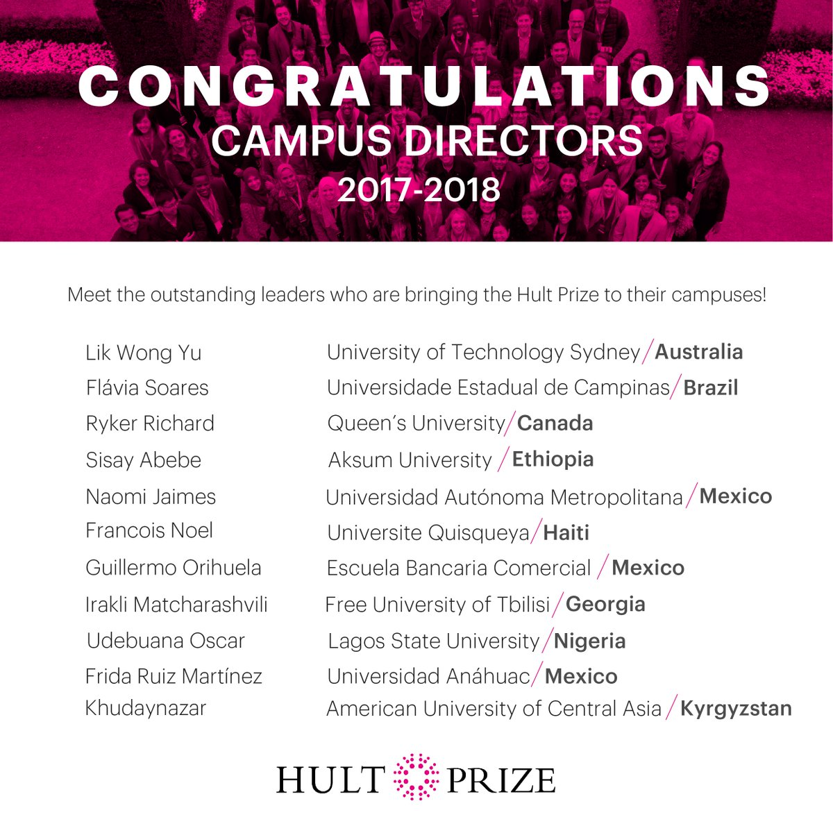 Hult Prize on Twitter: