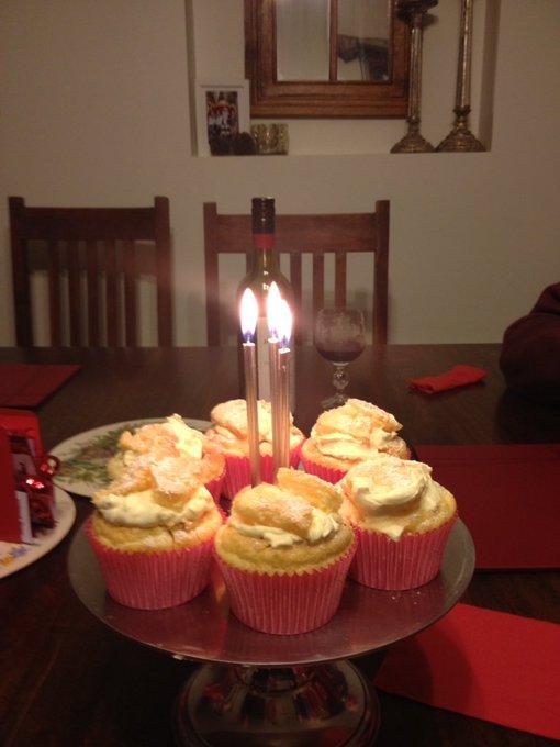 Happy belated birthday to your mum