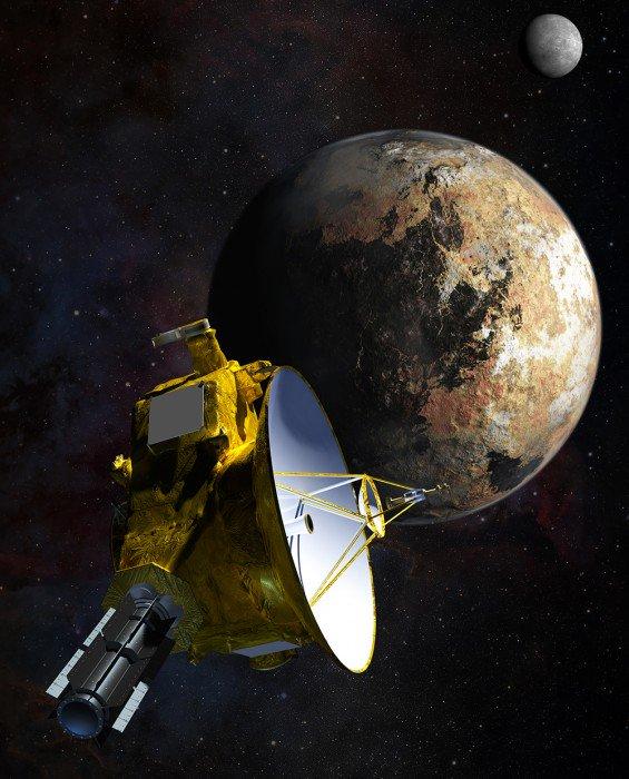 Deux vidéos inédites de Pluton et de sa lune Charon prises de la sonde New Horizons https://t.co/w72F5TtoLA