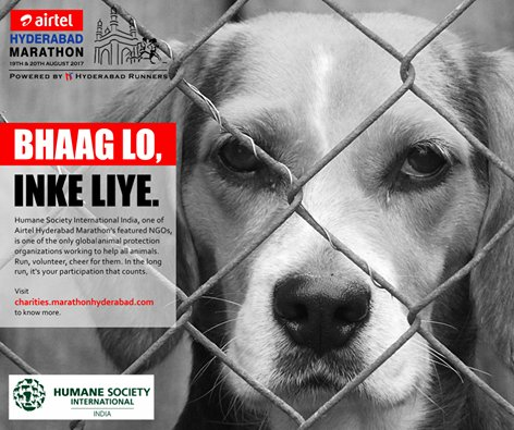 #Hyderabad, give a voice to the voiceless; run for a cause. Support the work of Humane Society International at  http:// chairites.marathonhyderabad.com  &nbsp;  .<br>http://pic.twitter.com/ikPC7qmc1R