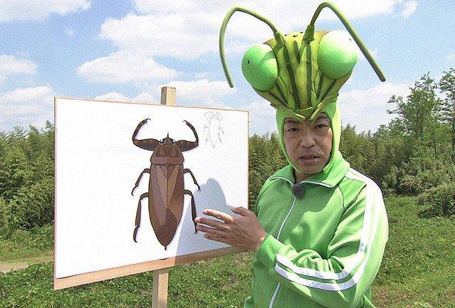 【見る】『香川照之の昆虫すごいぜ!』夏休み特別版が放送決定 https://t.co/tlPPMTBy94  「もう一度タガメに会いたい」という香川の強い願いから、NHKに「タガメ捜査一課」を設置して大捜索。8月12日に放送される。