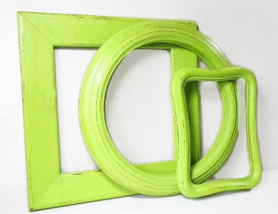 Kiwi Green Picture Frame Set of 3, Scatter Frames-Empty Wall Gal…  http:// etsy.me/2rUjc9q  &nbsp;   #decorativeknobs #FrameSet<br>http://pic.twitter.com/xL69gC1k0K