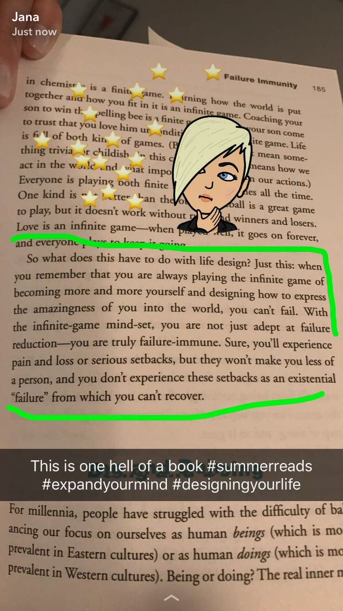 No such thing as failure #Dyl #designingyourlife #BookSnaps<br>http://pic.twitter.com/iy20Uk1VJs